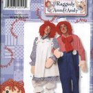 "Simplicity Sewing Pattern 2514 Mens Misses Chest Sizes 30-48"" Classic Raggedy Ann and Andy Costumes"