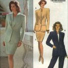Butterick Sewing Pattern 5645 Misses  Size 18-20-22 Easy Jacket Top Straight Skirt Pant Suit