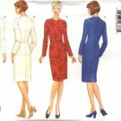 Butterick Sewing Pattern 5746 Misses Size 8 Fitting Shell Straight Long Sleeve Dress
