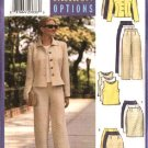 Butterick Sewing Pattern 5941 Misses Size 20-24 Easy Wardrobe Jacket Top Shell Straight Skirt Pants