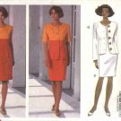 Butterick Sewing Pattern 6055 Misses Size 18-20-22 Easy Button Front Long Short Sleeve Jacket  Dress
