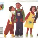 Butterick Sewing Pattern 6229 Boys Girls Size 4-6 Teletubbie ™ Fleece Jumper Overalls Transfers