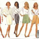 Butterick Sewing Pattern 6287 Misses Size 14-18 Easy Classic A-Line Straight Skirt Shorts Skorts