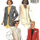Butterick Sewing Pattern 6492 Misses Size 18-20-22 Easy Button Front Long Unlined Vest Jacket