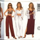 Butterick Sewing Pattern 6538 Misses Size 6-8-10 Easy Wardrobe Jacket Dress Top Pants
