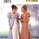 Butterick Sewing Pattern 6630 Misses Size 18-20-22 18th Century Costume Empire Waist Dress Coat