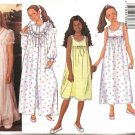 Butterick Sewing Pattern 6896 Girls Size 12-14-16 Easy Bathrobe Robe Sleeveless Nightgown