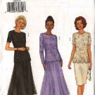Butterick Sewing Pattern 6929 Misses Size 8-10-12 Formal Evening Lace Top Straight Flared Skirt
