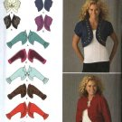 Simplicity Sewing Pattern 2478 Misses Sizes 16-24 Sleeveless Long Sleeve Bolero Shrug Jacket
