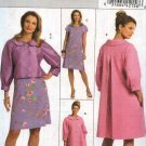 Butterick Sewing Pattern 5189 Misses Size 16-24 Easy Short Jacket Spring Coat A-Line Dress