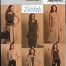 Butterick Sewing Pattern 5190 Misses Size 16-24 Easy Knit Wardrobe Jacket Top Dress Skirt Pants
