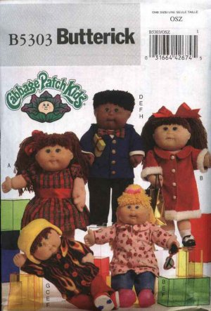 Ship Ahoy! Cabbage Patch Kids Doll Clothes Crochet Pattern