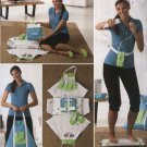 Simplicity Sewing Pattern 2438 Electronic Computerized Fitness Exercise Wii Game Accessories