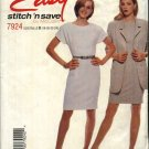 McCall's Sewing Pattern 7924 Misses Size 18-24 Easy Straight Dress Long Sleeve Jacket