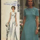 Vintage 1973 Simplicity Sewing Pattern 5911 Misses size 10 Long Short Dress