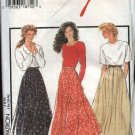 Style Sewing Pattern 2753 Misses Size 8-20 Personalized Fit Flared Pleated Skirts