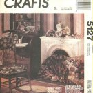McCalls Sewing Pattern 5127 Victorian Style Home Decorations Pillows Cushions Picture Frames