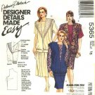 McCalls Sewing Pattern 5365 Misses Size 18 Easy Palmer Pletsch Three Piece Dress Vest Skirts Top