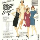 McCall's Sewing Pattern 5545 Misses Size 16 Palmer Pletsch Straight Princess Seam Dress