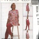 McCall's Sewing Pattern 8654 Misses Size 10-14 Easy Maternity Wardrobe Top Pants Jumpsuit Romper