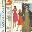 McCall's Sewing Pattern 5960 Misses Size 16-20 BlazerJacket Button Front Blouse Gored Skirt