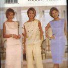 Butterick Sewing Pattern 6007 Misses Size 20-24 Formal Two-piece Dress Top Long Short Skirt Pants