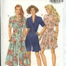 Butterick Sewing Pattern 6035 Misses Size 6-8-10 Easy Culotte Split Skirt Gaucho Dress