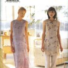 Butterick Sewing Pattern 6059 Misses Size 8-10-12 Easy Sleeveless Dress Tunic Top Pants