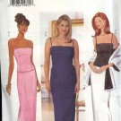 Butterick Sewing Pattern 6070 Misses Size 6-10 Easy Formal Prom Evening Camisole Top Long Skirt