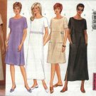 Butterick Sewing Pattern 6139 Misses Size 8-10-12 Easy Classic Pullover Short Sleeve A-Line Dress