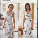 Butterick Sewing Pattern 6159 Misses Size 8-10-12 Easy Sleeveless Cowl Neck A-Line Dresses