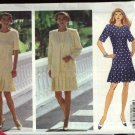 Butterick Sewing Pattern 6193 Misses Size 6-8-10 Easy Short Sleeve Button Front Dress Jacket