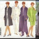 Butterick Sewing Pattern 6213 Misses Size 6213 Easy Wardrobe Jacket Duster Top Skirt Pants