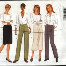 Butterick Sewing Pattern 6218 Misses Size 12-14-16 Easy Classic Straight Skirts Tapered Long Pants