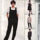McCall's Sewing Pattern 8012 Misses Size 12-14-16 Maternity Wardrobe Jumper Jumpsuit Top Pants