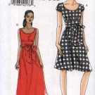 Vogue Sewing Pattern 8469 Misses Size 6-8-10-12 Easy Sleeveless Short Sleeve Summer Dress