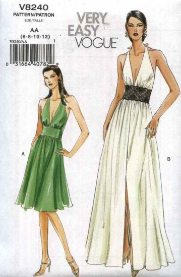 Halter Neck Dress Sewing Pattern Ivo Hoogveld