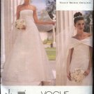 Vogue Sewing Pattern 2717 Misses size 18-20-22 Wedding Dress Bridal Gown Formal Belleville Sassoon