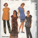 McCall's Sewing Pattern 8793 Misses Size 4-6 Easy Summer Wardrobe Dress Tunic Top Pants Shorts