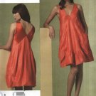 Vogue Sewing Pattern 1175 Misses Size 6-12 Donna Karan Pullover Bubble Tent Sleeveless Dress