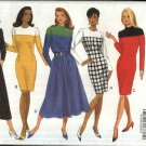 Butterick Sewing Pattern 6269 Misses Size 18-20-22 Easy Classic Straight Full Skirted Dress
