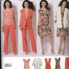 Simplicity Sewing Pattern 2618 Misses Size 10-18 Easy Wardrobe Dress Pants Top Jacket Vest