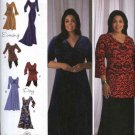 Simplicity Sewing Pattern 2544 Misses Size 10-18 Raised Waist Long Short Knit Dresses Tunics