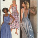 Butterick Sewing Pattern 5657 Misses Size 12-14-16 Sleeveless Summer Sundress Dirndl Skirt Dress
