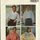 Butterick Sewing Pattern 5658 Misses Size 12-14-16 Easy Button Front Long Sleeves Blouse Top