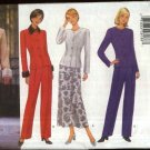 Butterick Sewing Pattern 5692 Misses Size 18-20-22 Easy Classic Suit Jacket Skirt Pants Pantsuit