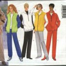 Butterick Sewing Pattern 5702 Misses Size 6-8-10 Easy Classic Zipper Front Jacket Vest Pants
