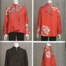 Vogue Sewing Pattern 8654 Misses Size 8-10-12-14 Easy Asymmetrical Front Art Jacket Katherine Tilton