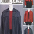 Vogue Sewing Pattern 8653 Misses Size 4-14 Easy Knit Marcy Tilton Reversible Upside Down Jacket