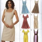 Vogue Sewing Pattern 8648 V8648 Misses Size 6-12 Easy Sleeve Skirt Summer Lined Dress Options